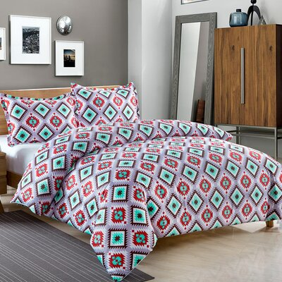 Cherokee 3 Piece Comforter Set Size: King