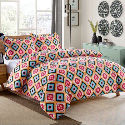 Dacota 3 Piece Comforter Set Size: Full/Queen