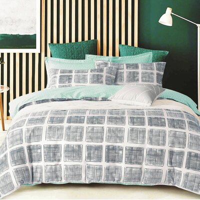 Davano 3 Piece Duvet Cover Set Size: Full/Queen