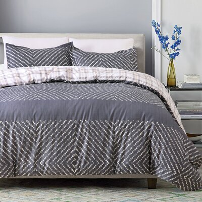 Delfina 3 Piece Duvet Cover Set Size: King