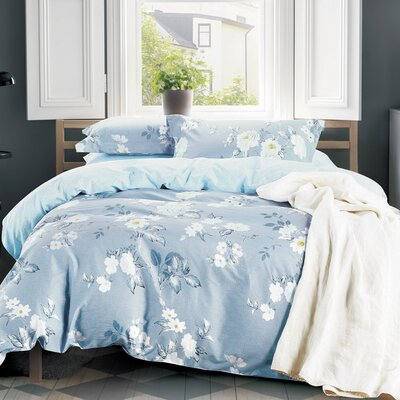 Eve 3 Piece Duvet Cover Set Size: King