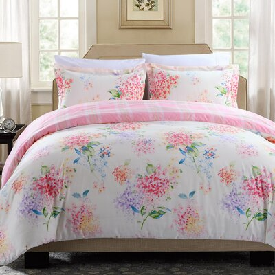 Fiorina 3 Piece Duvet Cover Set Size: King