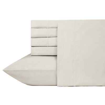 Ultra Hotel Luxury 6 Piece 700 Thread Count Sheet Set Size: Full, Color: Cream