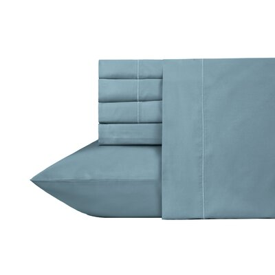 Ultra Hotel Luxury 6 Piece 700 Thread Count Sheet Set Size: Queen, Color: Steel Blue