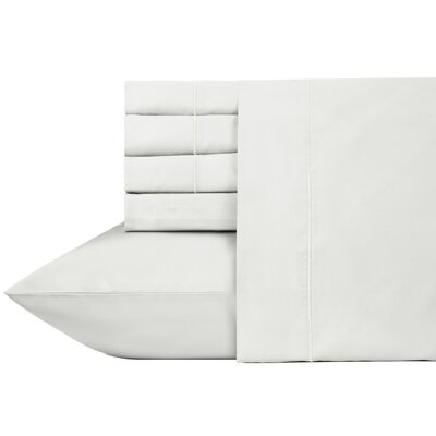 Ultra Hotel Luxury 6 Piece 700 Thread Count Sheet Set Size: Full, Color: Pure White