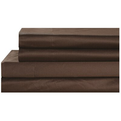 Pillowcase Size: King, Color: Chocolate