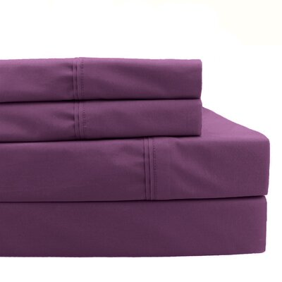 Pillowcase Size: King, Color: Purple