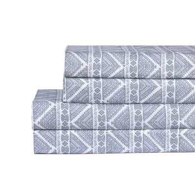 Tribal 200 Thread Count100% Cotton Sheet Set Size: Queen