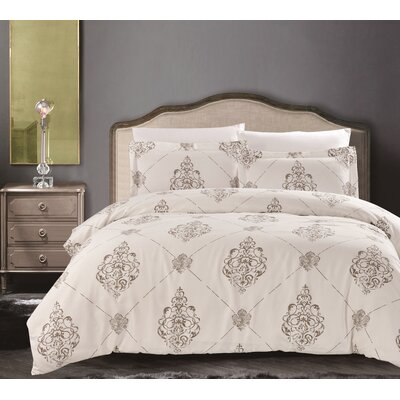 Uptown Luxe Madison 3 Piece Quilt Set Size: King