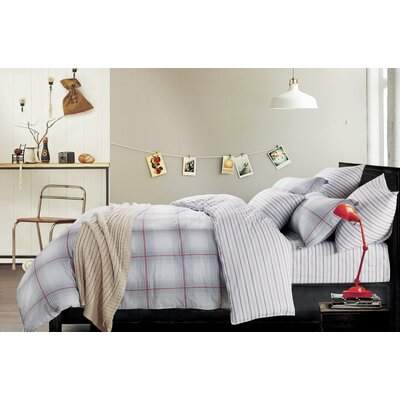 Brooklyn 3 Piece Duvet Cover Set Size: Full/Queen