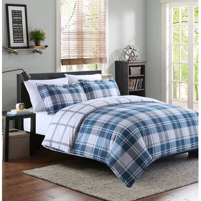 Norwich 3 Piece Duvet Cover Set Size: King