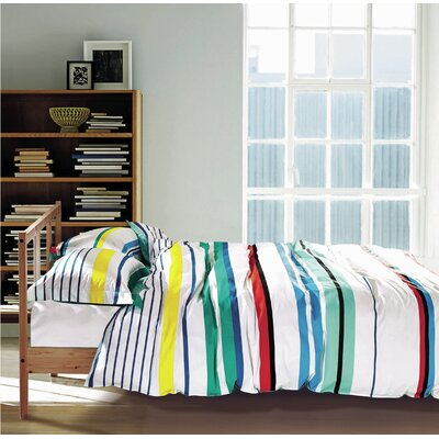 Beatrice 3 Piece Duvet Cover Set Size: King