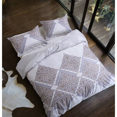 Uptown Luxe Palacial 3 Piece Duvet Cover Set Size: Full/Queen