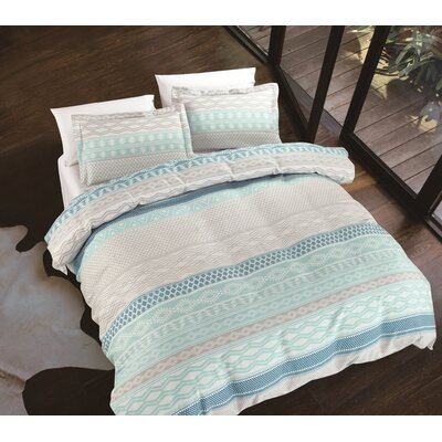 Swank Mode Rhythm 3 Piece Duvet Cover Set Size: Full/Queen