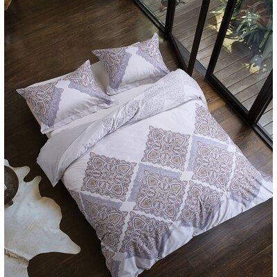 Uptown Luxe Palacial 3 Piece Comforter Set Size: Full/Queen