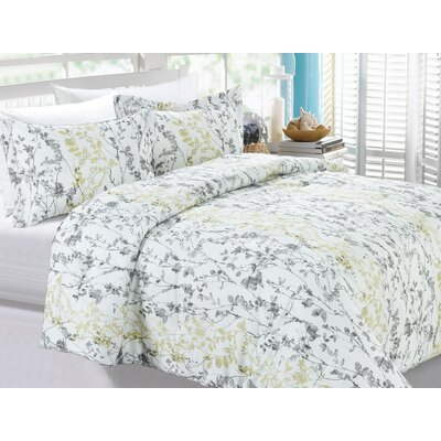 Pallini 3 Piece Full/Queen Duvet Cover Set