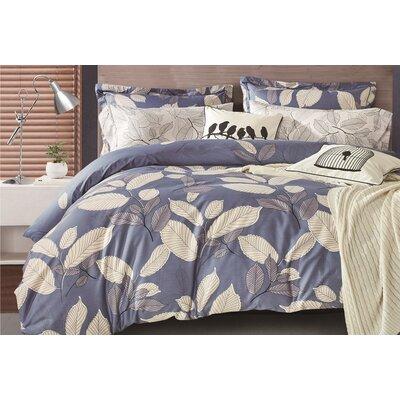 Uptown Luxe Mangrove 3 Piece Comforter Set Size: Full/Queen