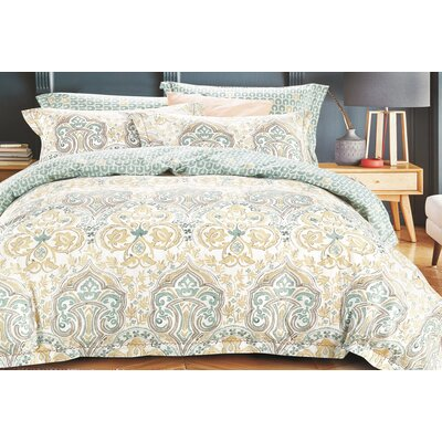 Uptown Luxe Wandrer 3 Piece Comforter Set Size: King