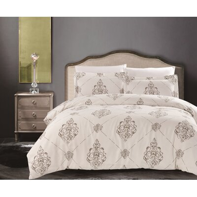 Uptown Luxe - Madison 3 Piece Comforter Set Size: King