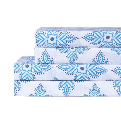 Upland 200 Thread Count 100% Cotton 4 Piece Sheet Set
