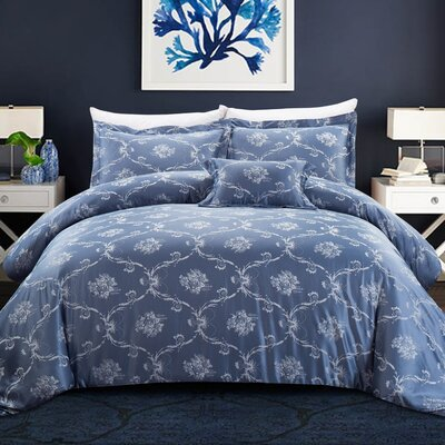 Reginald 3 Piece Duvet Set Size: Full/Queen