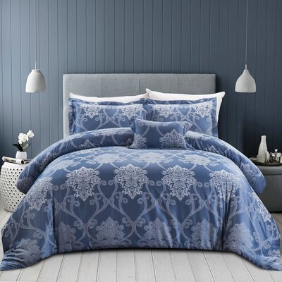 Buchanon 4 Piece Comforter Set Size: Full/Queen