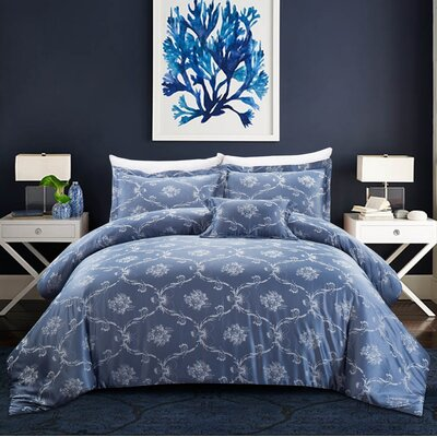 Reginald 4 Piece Comforter Set Size: Full/Queen