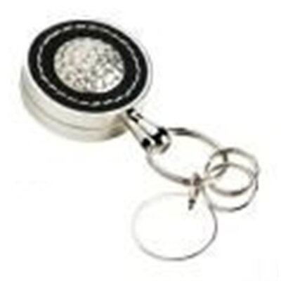 Leather Golf Key Fob with Key Extender 11278