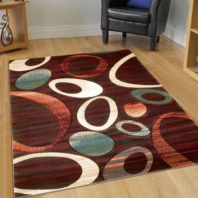 Scarlet Area Rug Rug Size: 79 x 105