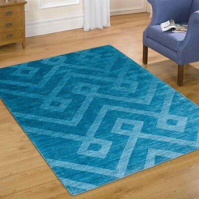 Blue Area Rug Rug Size: 711 x 911