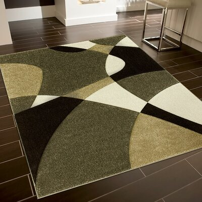 Brown Area Rug Rug Size: Rectangle 7'9