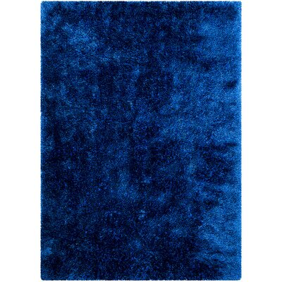 Blue Area Rug Rug Size: Rectangle 77 x 104