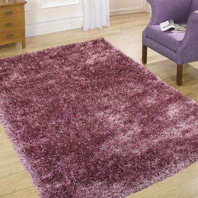 AllStar Rugs Purple Area Rug - Rug Size: Square 5'6