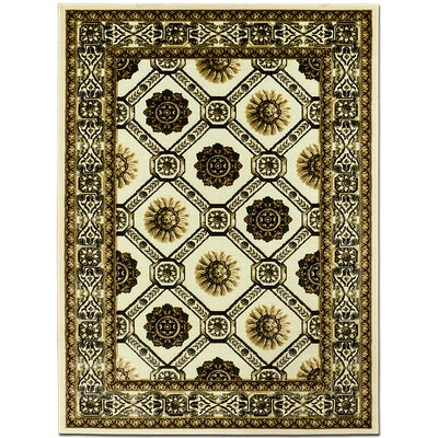 Exotic Green Area Rug Rug Size: 79 x 105