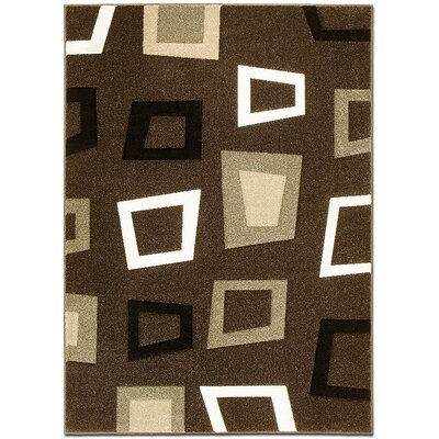 Chocolate Area Rug Rug Size: Rectangle 79 x 105