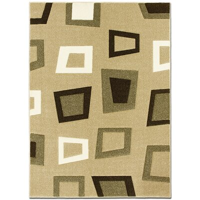 Champagne Area Rug Rug Size: Rectangle 52 x 72