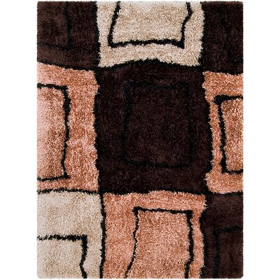 Mocha Area Rug Rug Size: Rectangle 38 x 51