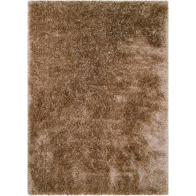 Brown Area Rug Rug Size: Rectangle 77 x 104