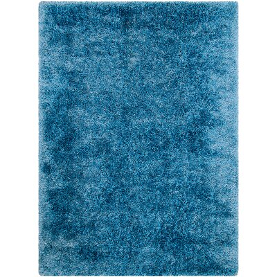 Light Blue Area Rug Rug Size: Rectangle 411 x 7