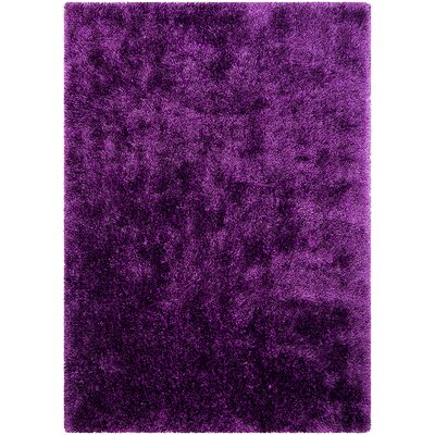 Lilac Area Rug Rug Size: Rectangle 77 x 104