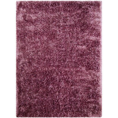 Purple Area Rug Rug Size: 38 x 51