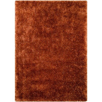 Rust Area Rug Rug Size: Rectangle 411 x 7