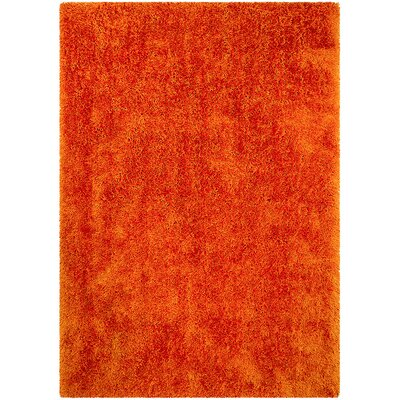 Tangerine Area Rug Rug Size: Rectangle 411 x 7