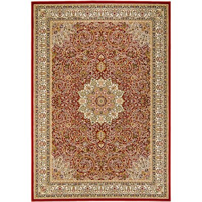 Handmade Red Area Rug Rug Size: 710 x 108