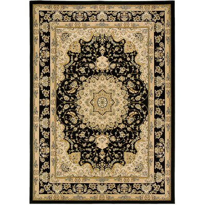 Handmade Black/Brown Area Rug Rug Size: 710 x 108