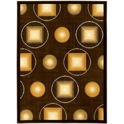 Chocolate Area Rug Rug Size: 710 x 102