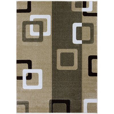 Green Area Rug Rug Size: Rectangle 79 x 105