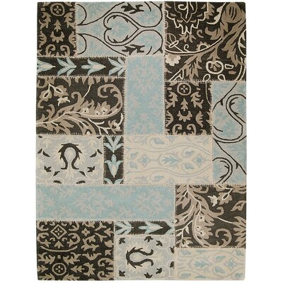 Handmade Brown Area Rugs Rug Size: 711 x 1011