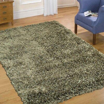 Handmade Green Area Rug Rug Size: 7 x 102