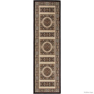 Hand-Woven Brown/Black Area Rug